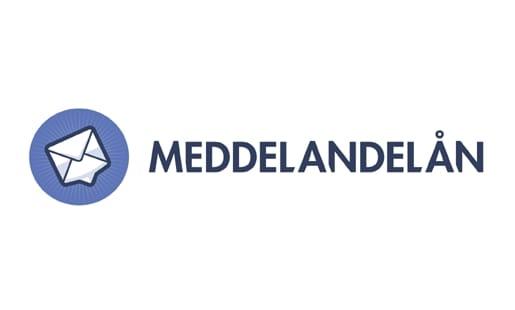 Meddelandelån Logo